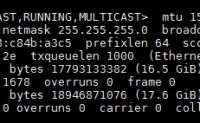 linux 下 tshark  抓包分析