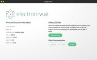 vue  编写桌面客户端应用